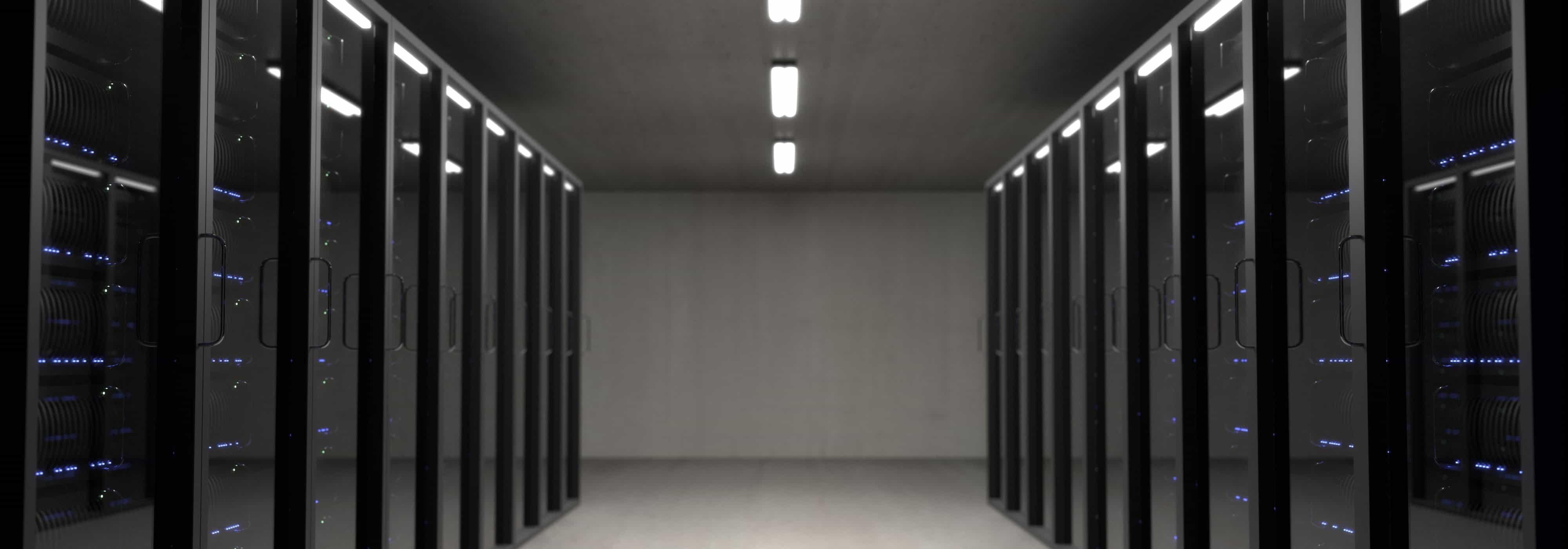 Data center colocation servers or stacks