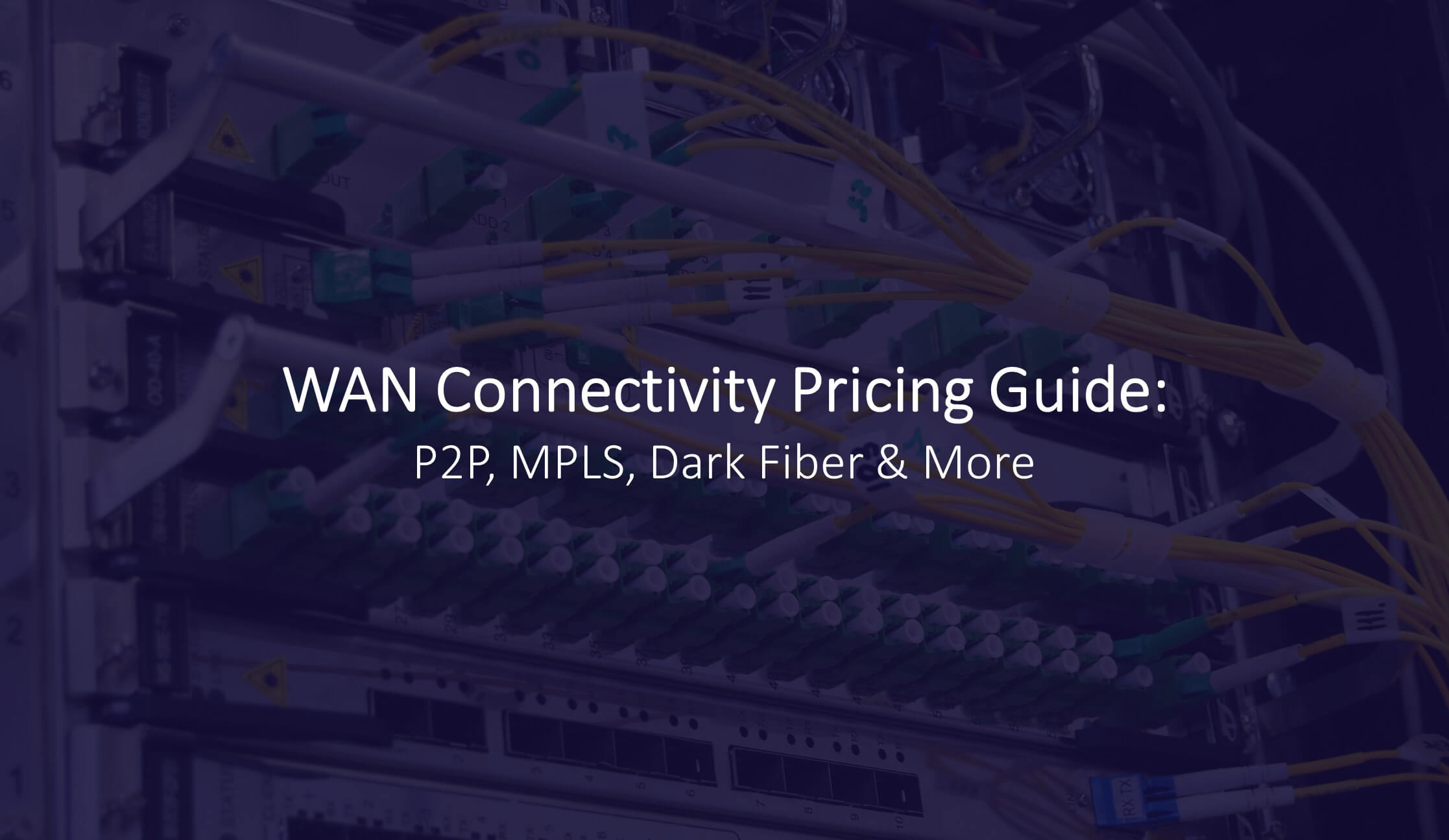 wide area network pricing guide
