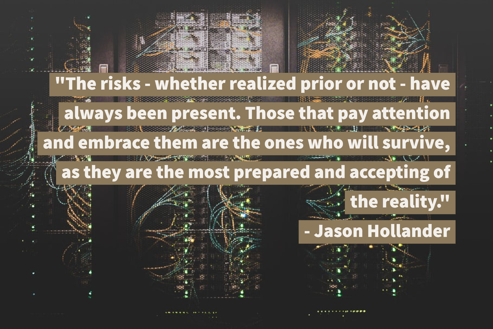 Quote about cyber security